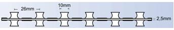 Sarma lamata fir intins BTO 10