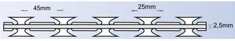 Sarma lamata fir intins BTO 25